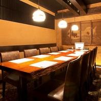 最大30名様 テーブル式個室