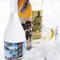 麦焼酎 五代/芋焼酎 鉄幹/しそ焼酎 鍛高譚