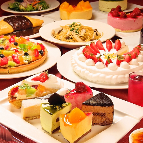 旧ムフタール・ドゥ・パリのケーキ食べ放題プランが土日祝日に復活★☆ご予約承り中!