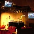 【貸切パーティー◎】充実の設備★LIVE可能なステージと、どこからでも見える複数モニター完備!!