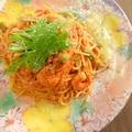 料理メニュー写真小エビのトマトクリ-ムパスタ