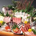 料理メニュー写真仰天!大漁盛り (12点盛り)
