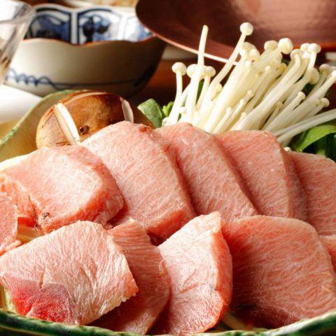 江戸ねぎま鍋のコース