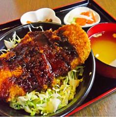 ソースカツ丼(みそ汁、おしんこ付)