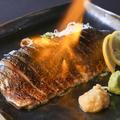料理メニュー写真北海道直送!〆鯖の炙り
