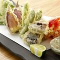 料理メニュー写真旬野菜の天麩羅