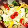 料理メニュー写真朝採り野菜のグリルサラダ