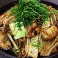 料理メニュー写真◆期間限定◆牡蠣ぶた焼きそば
