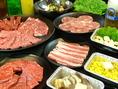 嬉しい選べる食べ放題!種類も豊富にご用意しております!お腹一杯になるまでごゆっくりお召し上がりください!