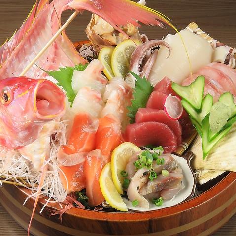 新鮮な鮮魚が自慢!会社宴会にピッタリのコースございます!