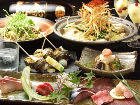 黒毛和牛もつ鍋(九州味噌味/西京味噌味)OR石焼ホルモンコース飲放付き3500円!宴会に♪