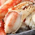 料理メニュー写真たらば蟹盛り(350g)