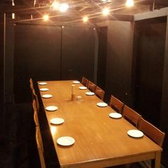 テーブル個室は2名様~団体様まで自由自在♪