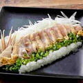 料理メニュー写真阿波尾鶏のたたき