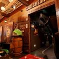 デイズタウンの地下1階の飲食店街にある「CARRIBEAN CAFE(カリビアンカフェ)」。駅も徒歩圏内なのでアクセス最高です!