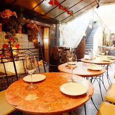 ◆人気のテラス席◆春~夏に絶大な人気を誇ります。開放的な空間で飲むビールは格別☆ペット同伴OKです!情熱的なスペイン料理と、キンキンに冷えたビールをお洒落なテラスでお愉しみください♪