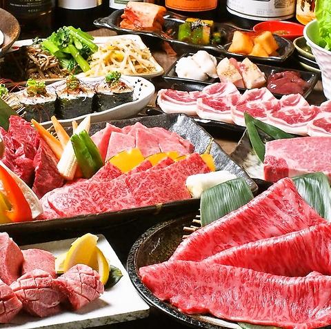 丸亀町商店街の焼肉店「焼肉 和牛いちえ」。希少な極上タンや和牛寿司などに舌鼓…