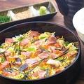 料理メニュー写真【かっこ新名物!】桶まぶし飯
