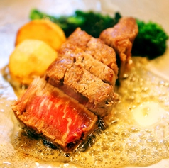 本日おすすめ鉄板ステーキ(サーロイン)