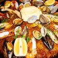 料理メニュー写真魚介のパエジャ(2人前) ※前日までに要予約