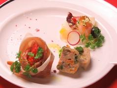 料理メニュー写真【1】前菜盛り合わせ