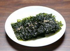 料理メニュー写真韓国のり