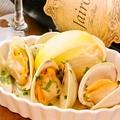 料理メニュー写真白ハマグリの白ワイン蒸し