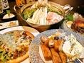 その贅沢な食空間で「美味しいものを、リーズナブルに」がこだわり!期間限定の一品料理、串、デザートなども登場し、飽きないお店作りとなっています。