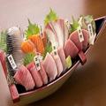 料理メニュー写真極上!!大漁刺し盛り