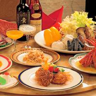 各種ご宴会や接待に最適なコースもご用意。
