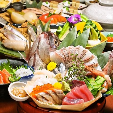 良い店を知っていることはかっこ良い。こだわりの北海道直送の鮮魚と契約農家のお野菜