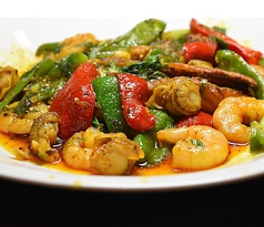 海鮮野菜のグリル