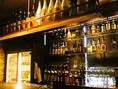 お酒も本格的で、バーカウンターもあります!仕事のあとの一杯に、友人・同僚と楽しくどうぞ♪