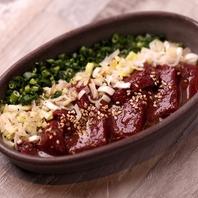 食べるべき一品【1】濃厚レバーステーキ!ゴマ塩風味