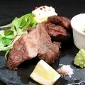 料理メニュー写真【3】熟成。仙台牛タンのグリル 150g