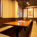 大人数でも使いやすい宴会個室♪完全に壁とドアで囲まれている完全個室なのもウレシイ!