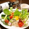 料理メニュー写真旬の野菜のバーニャカウダ