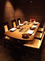 2~6名様までのテーブル個室