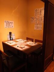 ご接待・ご会食など大切な方をお連れした際に多彩な完全個室。