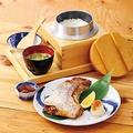 料理メニュー写真本日のカマ塩焼き定食