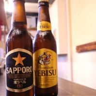瓶ビールご用意しております