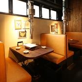 4~5名様まで利用可能なテーブル席