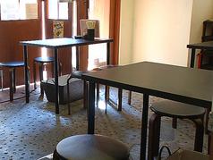 4名様掛けテーブル席