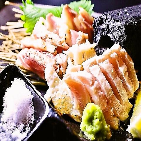 【地物が食べたい方に】岡山県産地鶏美膳軍鶏食べ尽くしコース 全7品+2H[飲放]⇒7000円