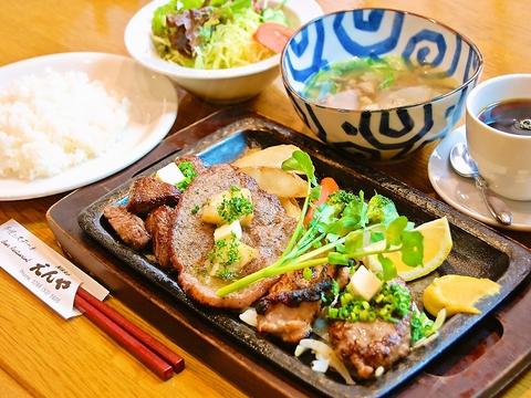 ステーキと串焼、そして世界中のビールが味わえる!ゆったりとくつろげるお店。