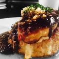 料理メニュー写真100%牛ハンバーグのロッシーニ