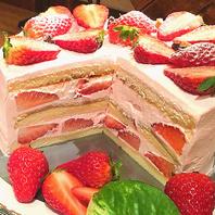 特製オリジナルの手作りケーキをお作りします!