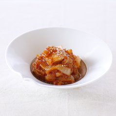 エンガワユッケ/酢みょうが/長芋カクテキ