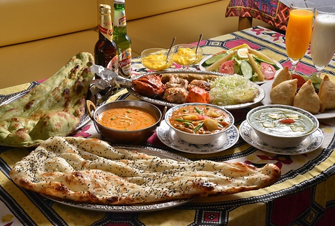 本格的インド料理が楽しめるお店アラジン!ひとりから宴会まで様々なシーンで活躍。