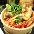 料理メニュー写真エビのスパイシーサワースープ